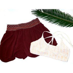 aztec lounge shorts